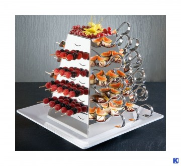 Coctail pinner, 200  stk, for buffet pyramide 15 cm