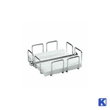 Serviett holder krom, 19x19x6,5 cm
